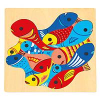 Рыбалка - магнитная игра, 2 удочки BINO (82737)