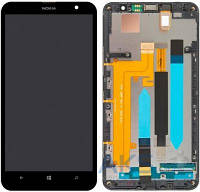 Дисплей (экран) для телефона Nokia Lumia 1320 + Touchscreen with frame Original