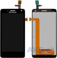 Дисплей (экраны) для телефона Lenovo S660, S668 + Touchscreen