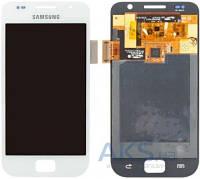 Дисплей (экран) для телефона Samsung Galaxy S I9000, Galaxy S Plus I9001 + Touchscreen Original White