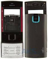 Корпус Nokia X3-00 с клавиатурой Black