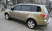 Дефлекторы окон (ветровики) Subaru Forester III 2008