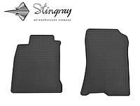 Stingray Модельные автоковрики в салон Рено Лагуна III с 2007- Комплект из 2-х ковриков (Черный)