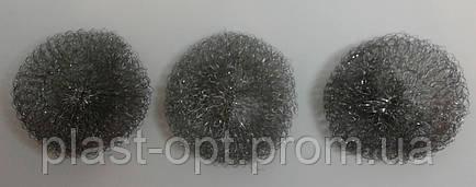 Скребок  металлический в сетке 3шт, фото 2
