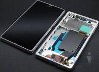 Дисплей (экран) для телефона Sony Xperia Z L36h C6602, Xperia Z L36i C6603, Xperia Z L36a C6606 + Touchscreen with frame Original White