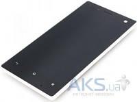 Дисплей (экран) для телефона Sony Xperia acro S LT26W + Touchscreen with frame Original White