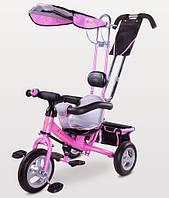 Детский трехколесный велосипед Caretero Derby Pink