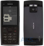 Корпус Nokia X2-00 с клавиатурой Black