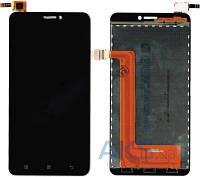 Дисплей (экраны) для телефона Lenovo S850 + Touchscreen Original Black