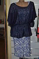 Платье полубатал с болеро  50-54р