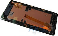 Дисплей (экраны) для телефона HTC Desire 600 Dual Sim, Desire 606w + Touchscreen with frame Original Black