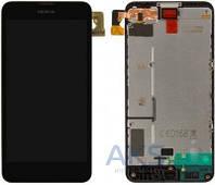 Дисплей (экран) для телефона Nokia Lumia 630 + Touchscreen with frame Original