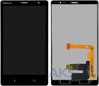 Дисплей (экран) для телефона Nokia X2 Dual Sim + Touchscreen Original Black