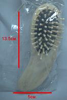 Расческа деревянная (13.5х5см)