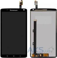 Дисплей (экран) для телефона Lenovo S930 + Touchscreen Original Black