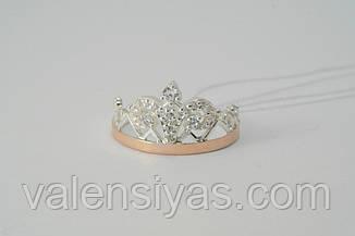Комплект украшений в форме короны из серебра 925*, фото 3