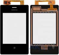 Сенсор (тачскрин) для Nokia Asha 503 Dual Sim Original Black