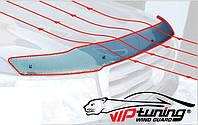 Дефлектор капота (мухобойка) VOLKSWAGEN Polo V 2015-
