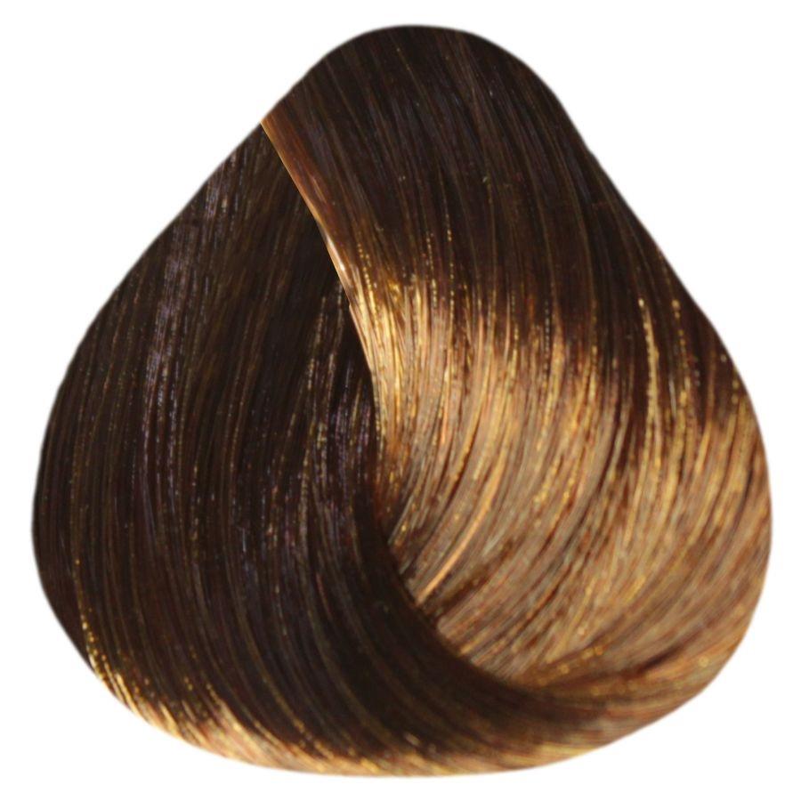 Краска-уход Estel Professional De Luxe 6/74 Темно-русый коричнево-медный 60 мл.