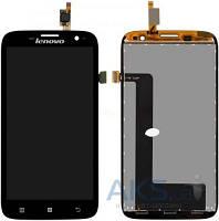 Дисплей (экраны) для телефона Lenovo A859 + Touchscreen