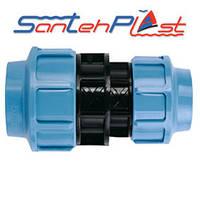 Santehplast Муфта Зажимная Редукционная 75*50