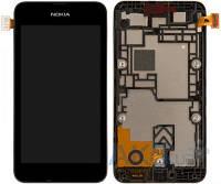 Дисплей (экран) для телефона Nokia Lumia 530 + Touchscreen with frame Original