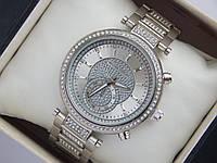 Элегантные женские наручные часы Michael Kors с дополнительным циферблатом