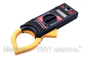 Мультиметр тестер DT 266 токовые клещи, фото 3