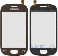 Сенсор (тачскрин) для Samsung Star Deluxe Duos S5292 Original Brown