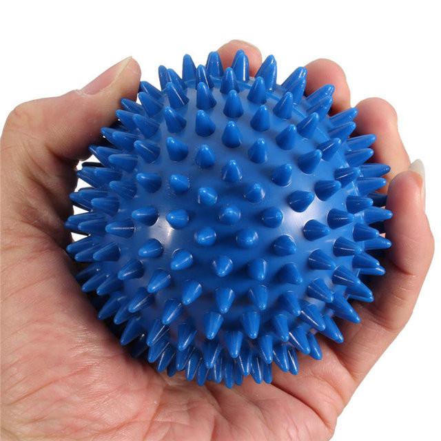 Мяч массажный для фитнеса 23 см BA-3402. Распродажа!