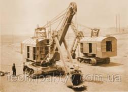 1930 г. - модель 50K с электрическим приводом - первый экскаватор в Японии
