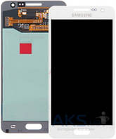 Дисплей (экраны) для телефона Samsung Galaxy A3 A300F, Galaxy A3 A300FU, Galaxy A3 A300H + Touchscreen Original White