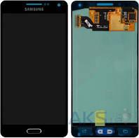 Дисплей (экран) для телефона Samsung Galaxy A5 A500F, Galaxy A5 A500FU, Galaxy A5 A500H + Touchscreen Original Black