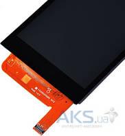 Дисплей (экран) для телефона HTC Desire 610 + Touchscreen Original Black
