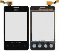 Сенсор (тачскрин) для LG Optimus L3 Dual E405 Original Black