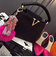 Женская сумка классическая Valentino через плечо с ручкой