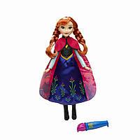 Кукла Анна Холодное сердце Волшебный наряд (Disney Frozen Anna's Magical Story Cape Doll)