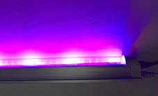 Світлодіодний фітосвітильник Т8-2835-0.6 FS 9W IP20 лінійний (fito spectrum led) Код.58831, фото 3