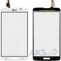 Сенсор (тачскрин) для LG G Pro Lite D680, G Pro Lite D684 Original White
