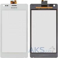 Сенсор (тачскрин) для Sony Xperia M C1904, Xperia M C1905, Xperia M Dual C2004, Xperia M Dual C2005 Original White