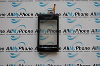 Сенсорный экран для мобильного телефона Sony E15i / X8 черный
