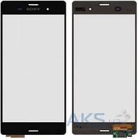 Сенсор (тачскрин) для Sony Xperia Z3 D6603, Xperia Z3 DS D6633, Xperia Z3 D6643, Xperia Z3 D6653 Original Black