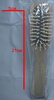 Расческа деревянная (21х5см)