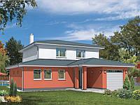 Проект двухэтажного дома Hd 55-1