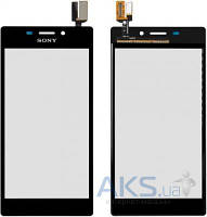 Сенсор (тачскрин) для Sony Xperia M2 Dual D2302, Xperia M2 D2303, Xperia M2 D2305, Xperia M2 D2306 Black