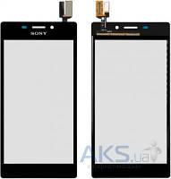 Сенсор (тачскрин) для Sony Xperia M2 Dual D2302, Xperia M2 D2303, Xperia M2 D2305, Xperia M2 D2306 Original Black