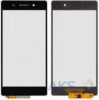 Сенсор (тачскрин) для Sony Xperia Z2 D6502, Xperia Z2 D6503 Original Black