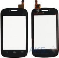 Сенсор (тачскрин) для Alcatel One Touch C1 Dual Sim 4015D Original Black