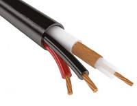 Коаксиальный кабель F 690B-2x0.75power-РVС   black (305м)