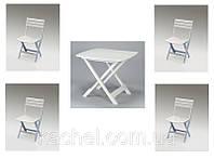 Комплект садовой мебели Camping Set стол + 4 стула